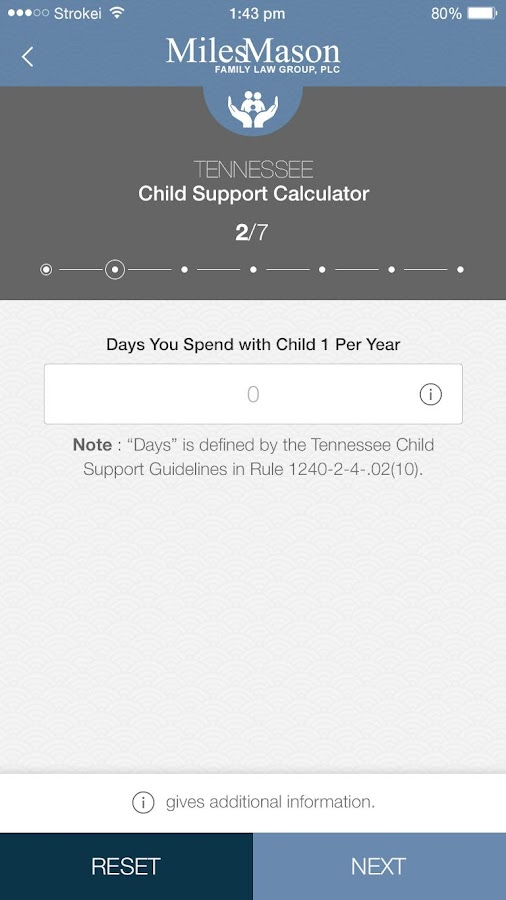 Tennessee Child Support Worksheet 2016: TN Child Support Calculator   Android Apps on Google Play,