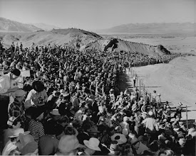 Photo: More than 65,000 people showed up to the 1949 Centennial Pageant- it was a huge success!