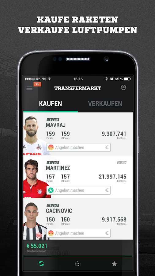Kickbase Bundesliga Manager- screenshot