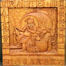 Photo: Tamaño: 80 x 80 cm. aprox. || Talla en madera. Woodcarving.   Puedes conocer más de este artista en el blog: http://tallaenmadera-woodcarving-esculturas.blogspot.com/