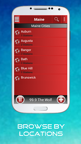 android A2Z Maine FM Radio Screenshot 5