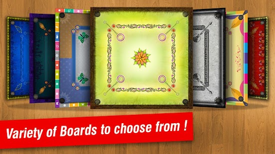 Real Carrom 3D : Multiplayer- screenshot thumbnail