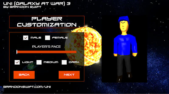 Uni (Galaxy At War) 3- screenshot thumbnail