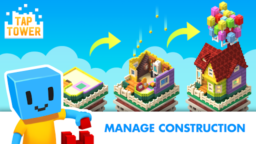 TapTower - Idle Building Game  screenshots 2
