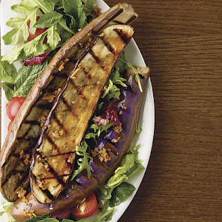 Southeast Asian Grilled Eggplant Salad