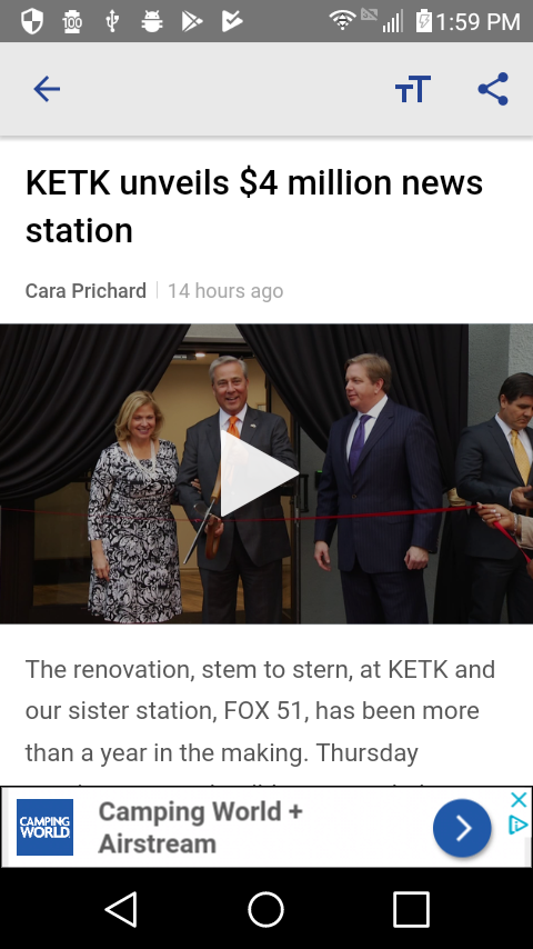 KETK News EastTexasMatters- screenshot
