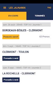 Les Jaunards Pronostics - náhled
