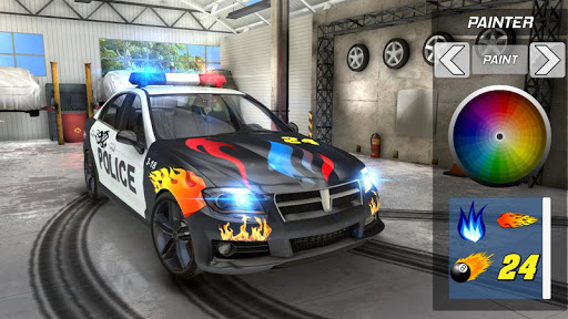 Police Drift Car Driving Simulator 1 screenshots 3