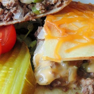 Cheeseburger Quesadillas Recipe