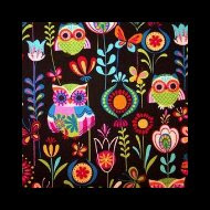Photo: Retro Euro Owls *Alice* Special Note *will coordinate with black straps **very hard to find fabric *OOS