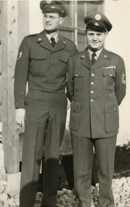 Don and Bob Schurr during Korean War