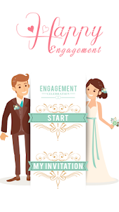 Engagement invite card maker apps on google play screenshot image stopboris Choice Image