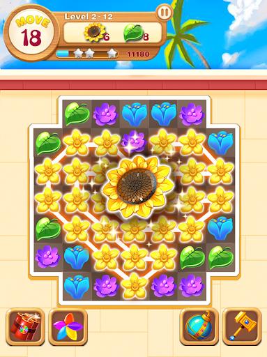 écrasement de fleurs de jardin  captures d'écran 2