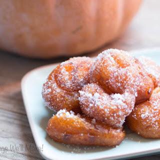 Grain Free Buñuelos de Calabaza (Grain free Pumpkin Fritters )