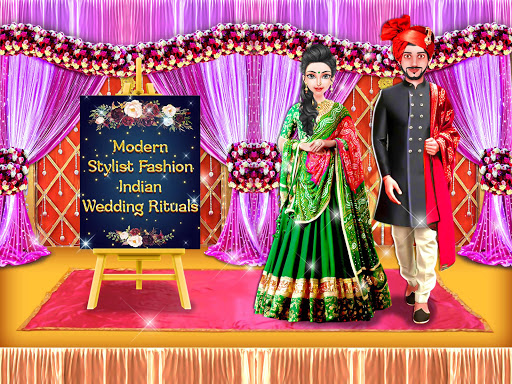 Morden Stylist Fashion Indian Wedding Rituals screenshots 1