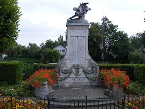 Photo: The ever-present war memorial.