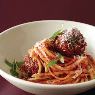 Slow-Braised Ragu and Meatballs
