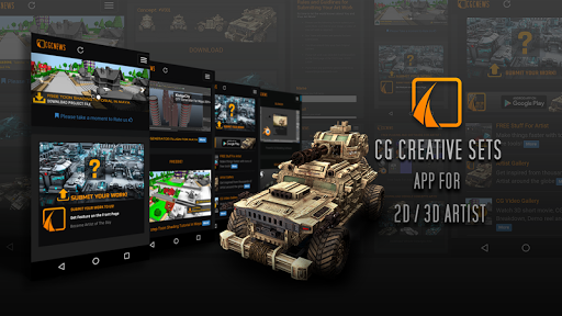 CG Creative Sets: 2D 3D Artist
