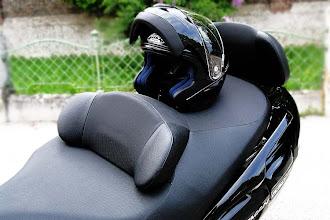 Photo: habe nun auch den passenden Helm in schwarz, Airoh SV55
