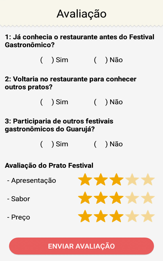 Sabores do Guarujá- screenshot