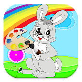 let's color with bunny