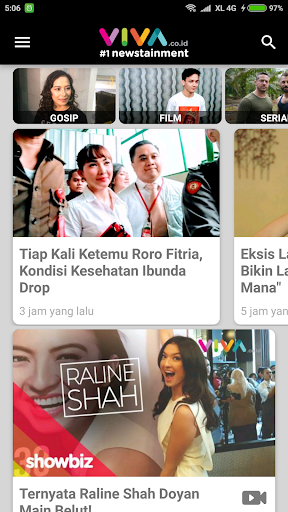 VIVA - Berita Terbaru - Streaming tvOne & ANTV 3.5.3 Screenshots 2