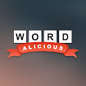 Wordalicious - Relaxing word puzzle game icon