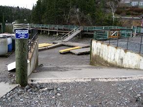 Photo: Burası boat rampası. Güya aşağısı su olmalı.