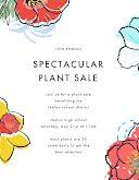 Spectacular Plant Sale - Poster item