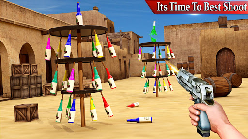 Bottle Shooting : New Action Games 2019 modavailable screenshots 13
