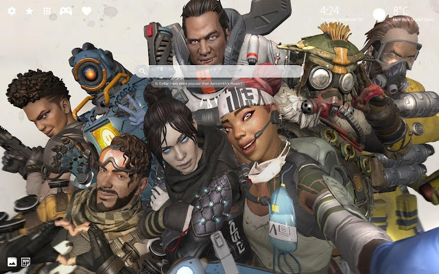 Apex Legends Season 1 Hd Wallpaper Theme