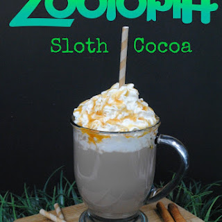 Zootopia Sloth Caramel Hot Chocolate