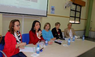 IES Aguadulce: Mesa redonda por el Día de la Mujer