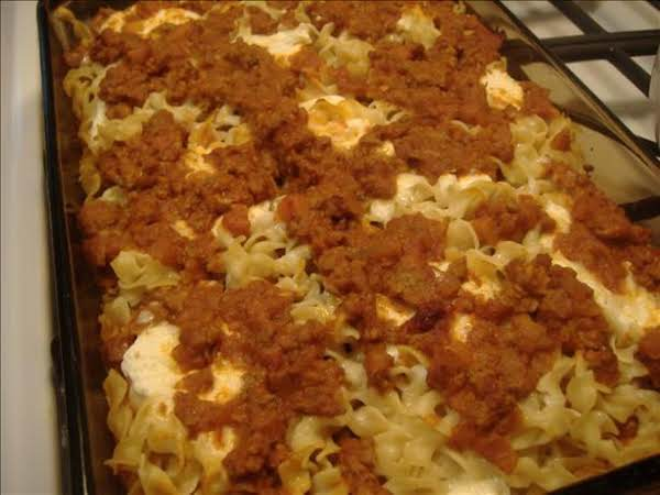 Italian Ground Beef Casserole Recipe