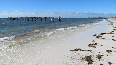 Photo: The old jetty @ Israelite Bay