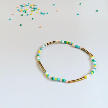 Handmade彩珠手鏈