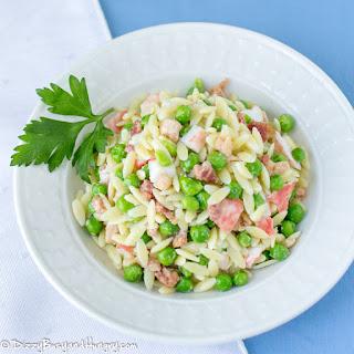Bacon Crab Pasta Salad.