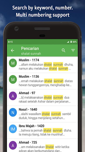 Ensiklopedi Hadits - Muslim guidance after Alquran  screenshots 6