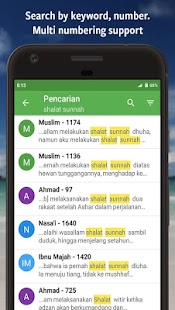 Ensiklopedi Hadits - Muslim guidance after Alquran- screenshot thumbnail