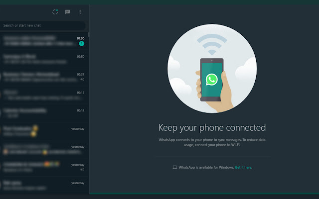 Dark Mode for WhatsApp Web & Your Eyes