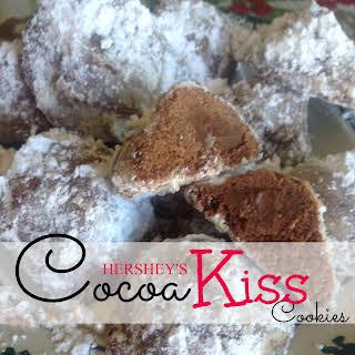 Hershey's Secret Cocoa Kiss Cookies.