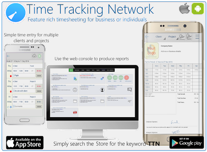 Time Tracking Network - TTN- screenshot thumbnail