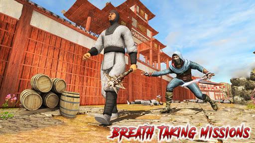 Télécharger Ninja Assassin Warrior Death Survival Zombie War APK MOD (Astuce) screenshots 3