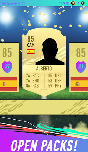 Pack Opener for FUT 21 1.31 screenshots 1