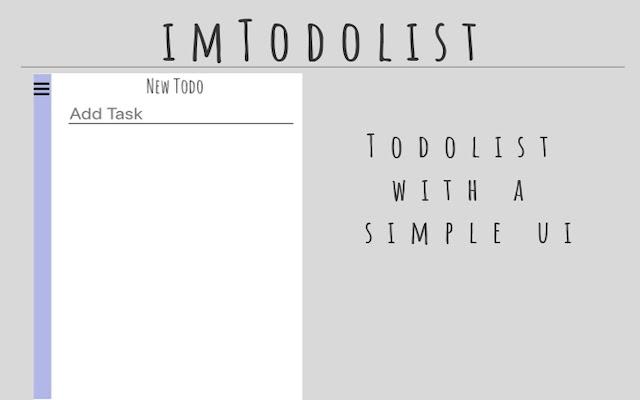 imTodoList