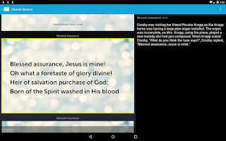 Screenshot of Proclaim Remote