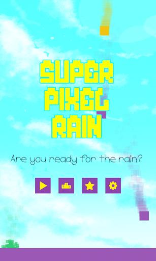 Super Pixel Rain