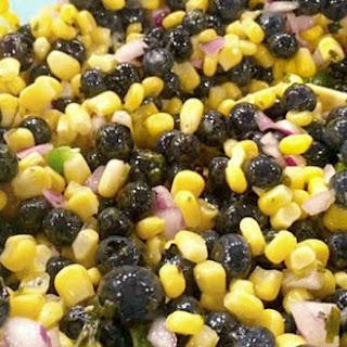 Blueberry Sweet Corn Salsa {Summer Salsa Series}