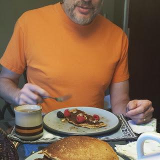 Darrell's Gluten Free Buckwheat Pancakes