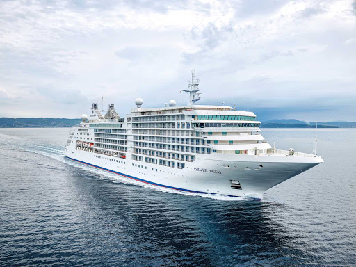 The 596-guest Silver Moon debuted in June 2021 in the Greek isles.